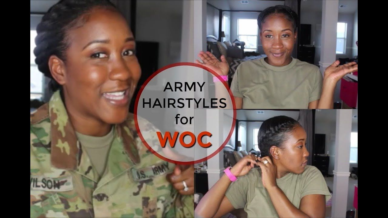 hairstyles for females in the military ( natural or relaxed