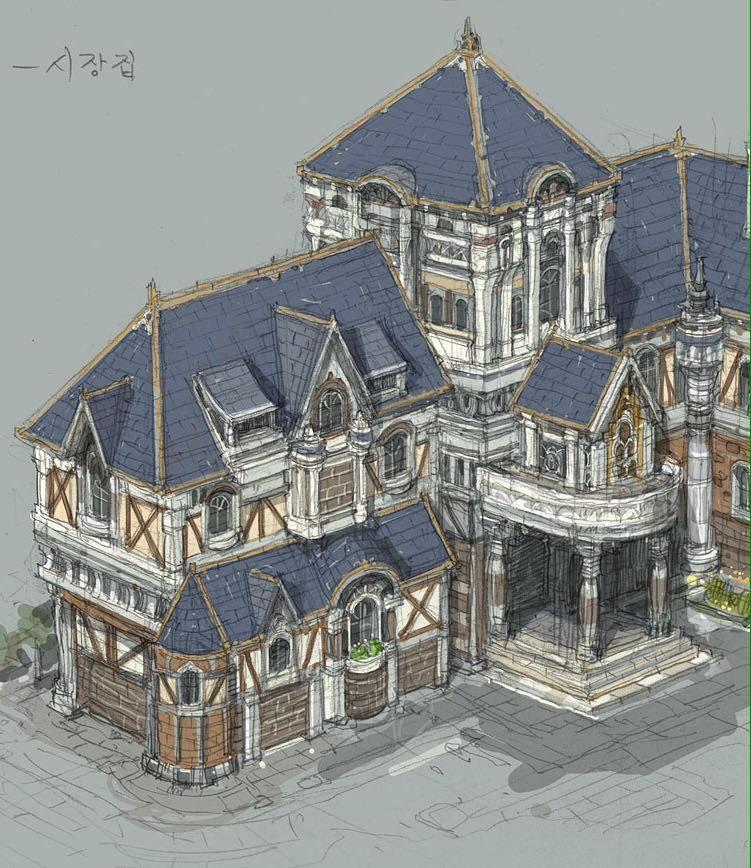 건물 컨셉 - Paperblue Gallery1 - Paperblue