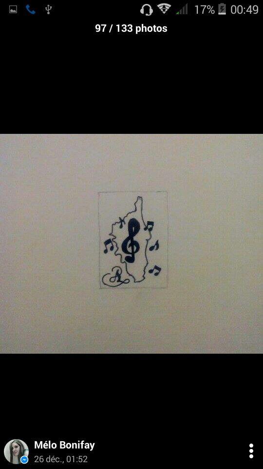 tatouage corse et notes de musique | mes dessins
