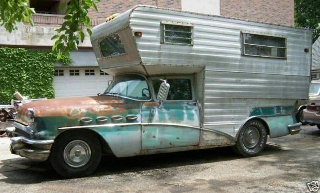 1956 Buick Camper