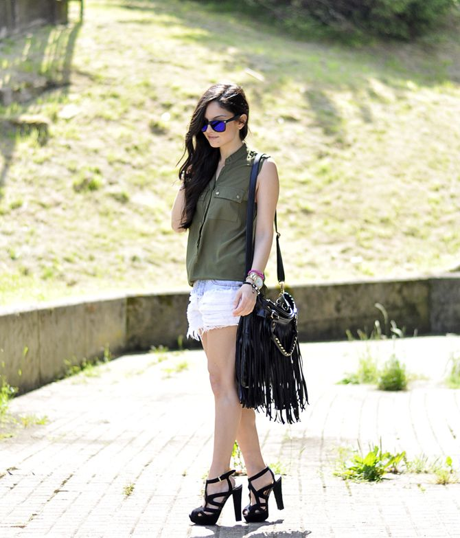 * Petit and Sweet Couture: Boyfriend Shorts ... ...