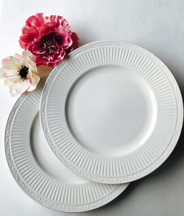 2 Mikasa Italian Countryside Dinner plates White Made in Japan ribbed 11\  | Vintage Plates and bowls | Pinterest | Mikasa and Products & 2 Mikasa Italian Countryside Dinner plates White Made in Japan ...