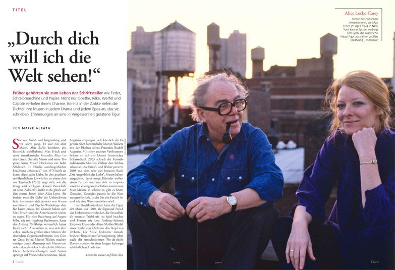 Max Frisch And Alice Locke Carey In 2019 Frisch