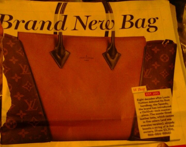 Love everything about this new Louis Vuitton bag except the price!