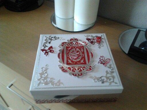 Box using tonic dies