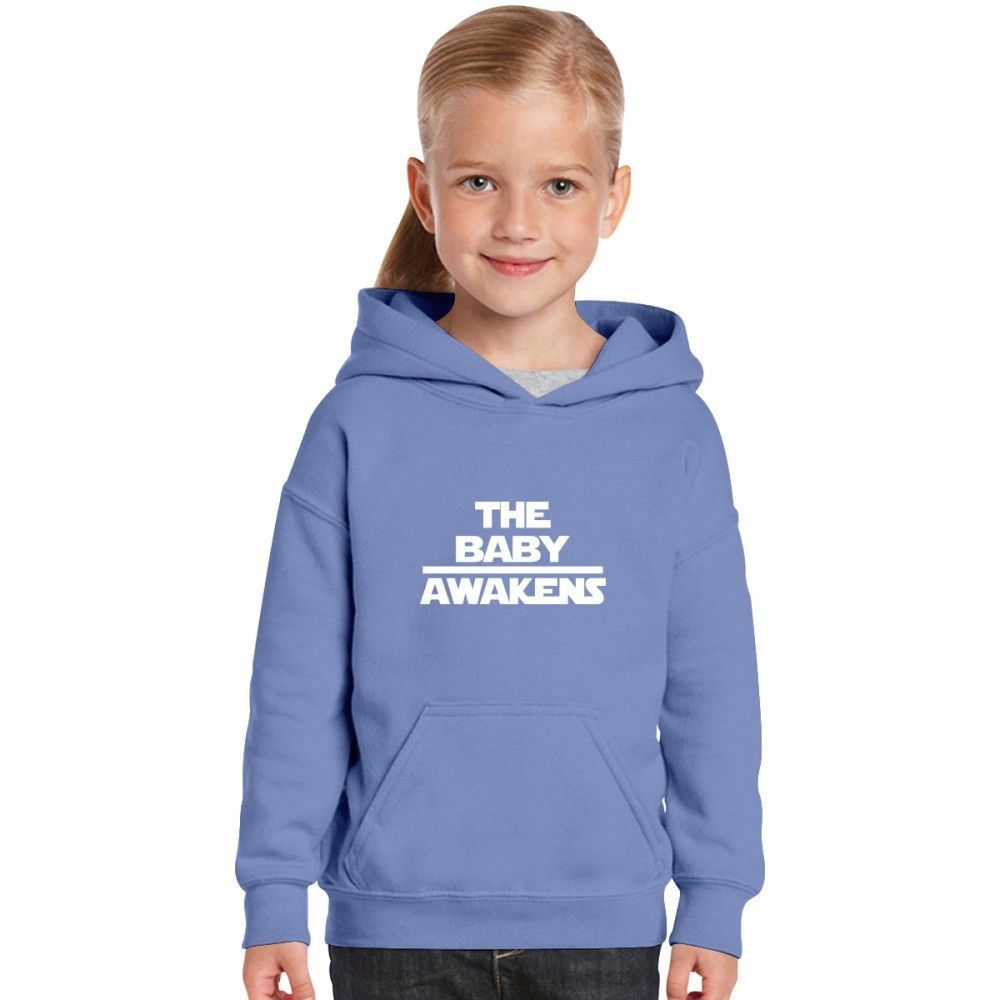 The Baby Awakens Kids Hoodie