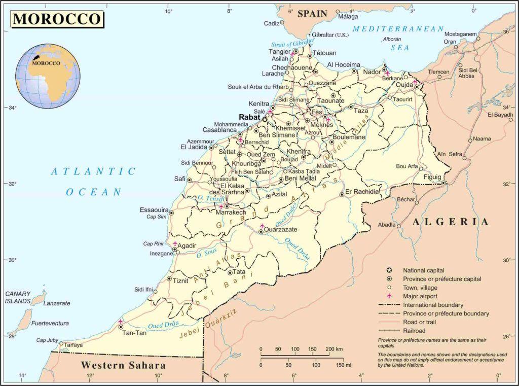 Agadir Marocco Cartina.Cosa Vedere A Ouarzazate E Dintorni Dalla Mappa Politica Del Marocco Marocco Tangeri Marocco Viaggio