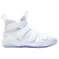 3882f473d82 Nike LeBron Soldier 11 - Boys  Grade School - Lebron James - White   Grey