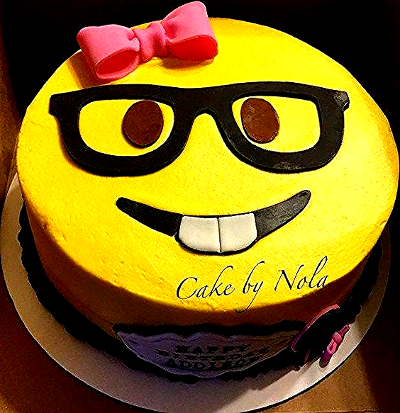 Photo of 28+ Nerd Birthday Cake Ideas . Nerd Birthday Cake Ideas Nerd Emoji Cakethe Pink …