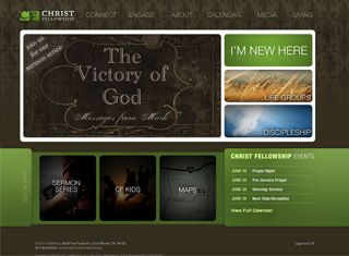 a pretty site with spanning colors nice church website design example for the contemporary side - Church Website Design Ideas