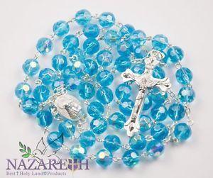 light blue rosary - Google Search