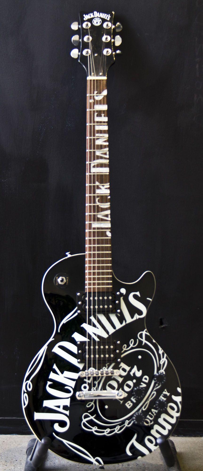 Jack Daniels guitar   Jack daniels   Jack daniels, Jack