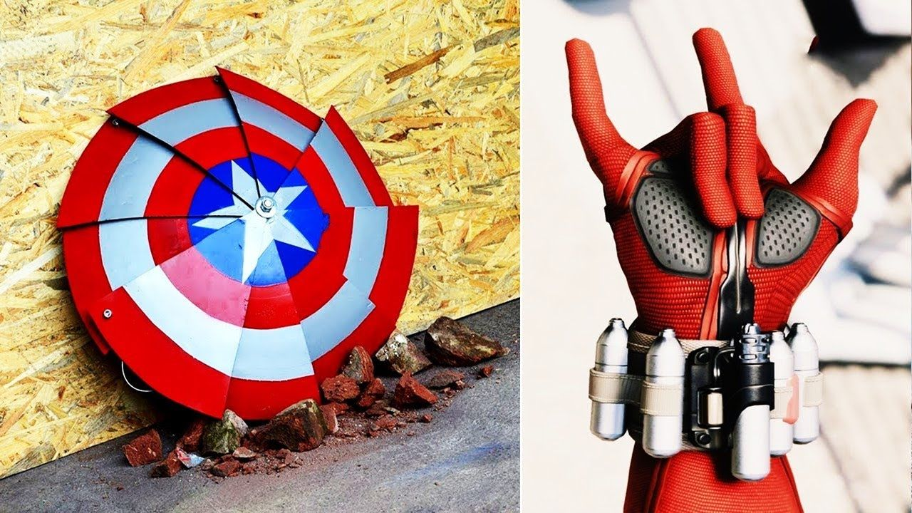 Amazing Superhero Gadgets & Cool Inventions Available on