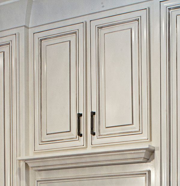 Raised Panel Cabinet With Nuance Paint By Sherwin Williams With A Pewter Glaze Truland Homes