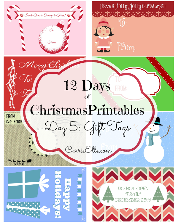 picture regarding 12 Days of Christmas Printable Templates referred to as Absolutely free Printable Xmas Labels Templates 12 Times of