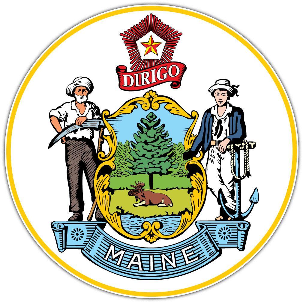 Got Maine Decal Michigan Decal Decals Vinyl Decal Stickers [ 1000 x 1000 Pixel ]