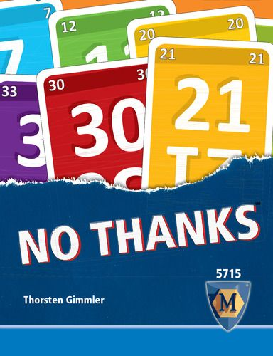 No Thanks Board Game With Images Card Games For Kids Card