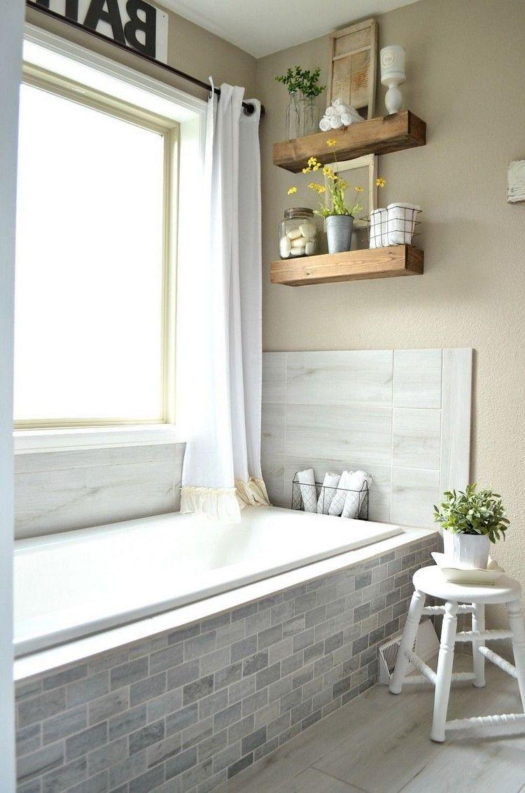 35 Fossil Farmhouse Bathroom Remodel Ideas On A Budget Bathroomdesign Bathroomdecor