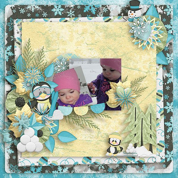 Kit used: A Snow'n Good Time by Day Dreams 'n Designs