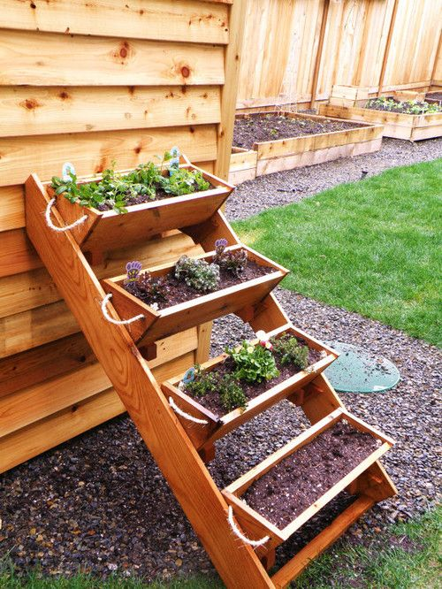 A Space Saver Like This Tiered Garden Box Helps Bring More Light And Heat  To The
