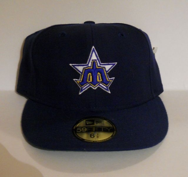 Seattle Mariners 2003 Issue 1983 Thowback Fitted Hat by New Era 6.7 8 ( vintage nwt) 651afa3c6590