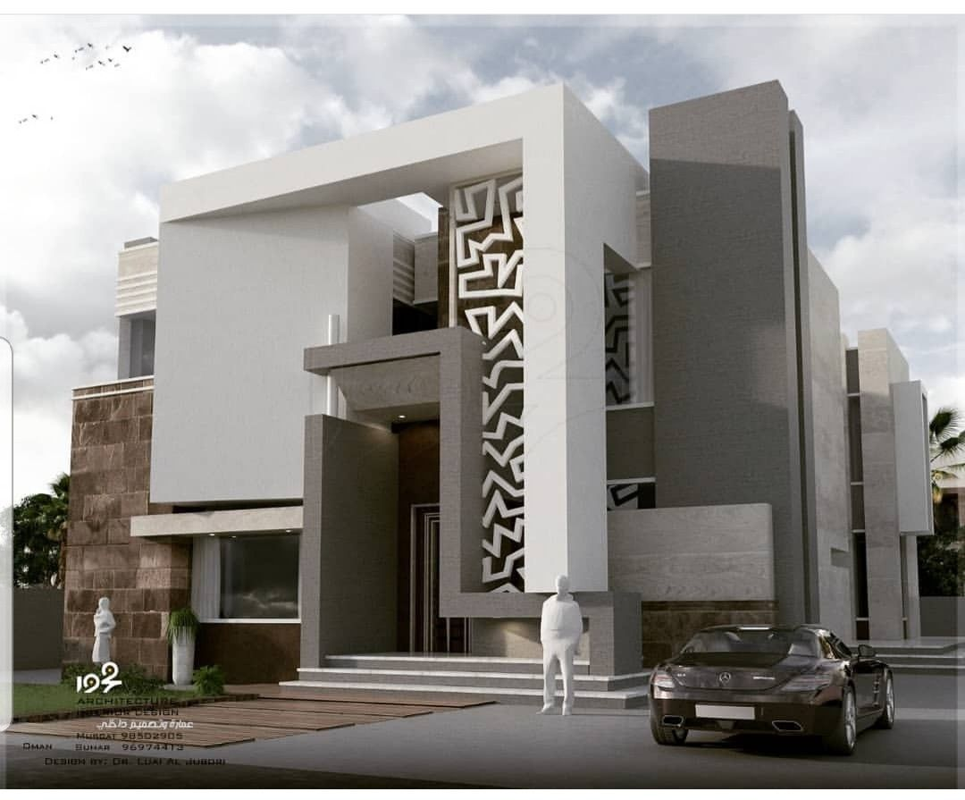 House elevation minimalist home room colors bungalow villas presentation arch also awesome contemporary style sq ft in rh pinterest