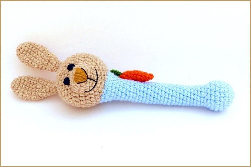 Amigurumi Nyuszik : Kreálmányok: nyuszi csörgő bunny rattle figurák pinterest