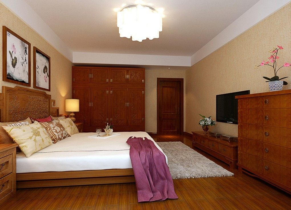 Wooden Flooring Designs Bedroom Custom Bedroom Design Ideas With Hardwood Flooring  Bedrooms Flooring Decorating Inspiration