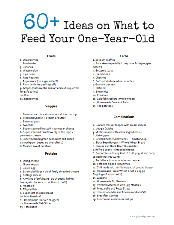 60 Ideas On What To Feed Your One Year Old Baby Food Recipes Toddler Eating Baby Eating