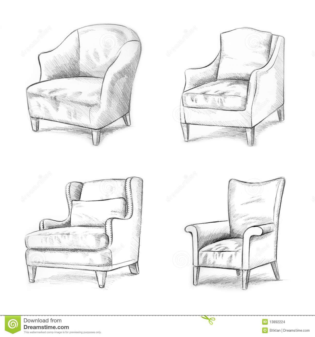 Image Result For Sketching Of A Chair Eskizy Interernyh Dizajnov Dizajn Interera Dizajn