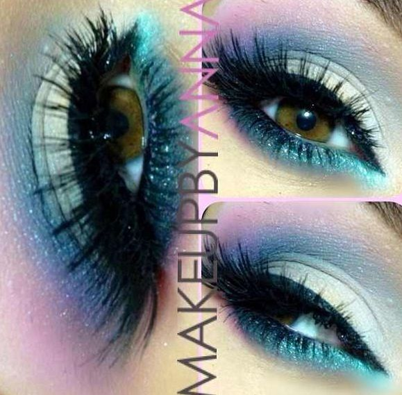 3 color beautiful eye shadow