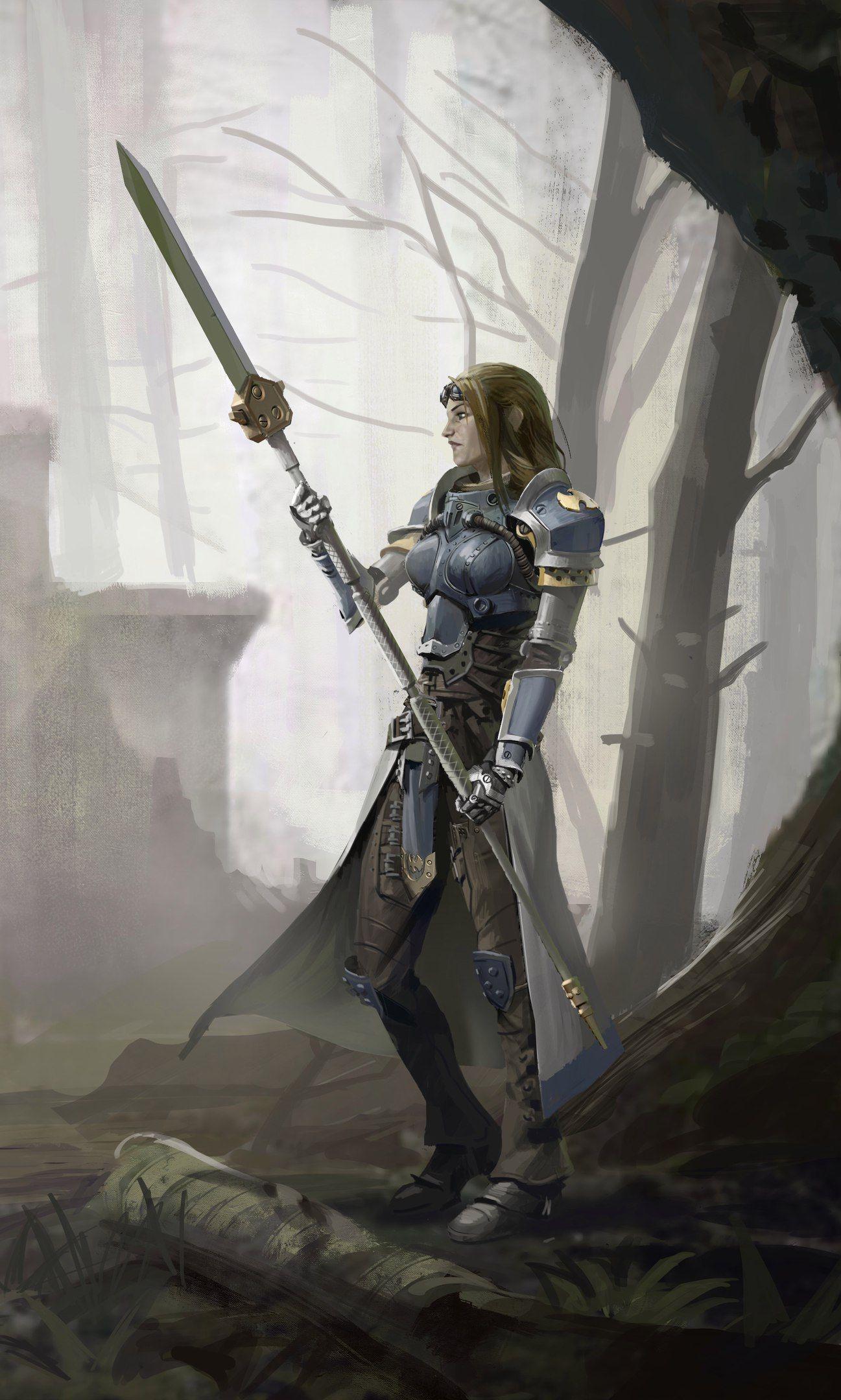 Female Knight Sister Of Battle Fantasy Art Fantasy Fantasy
