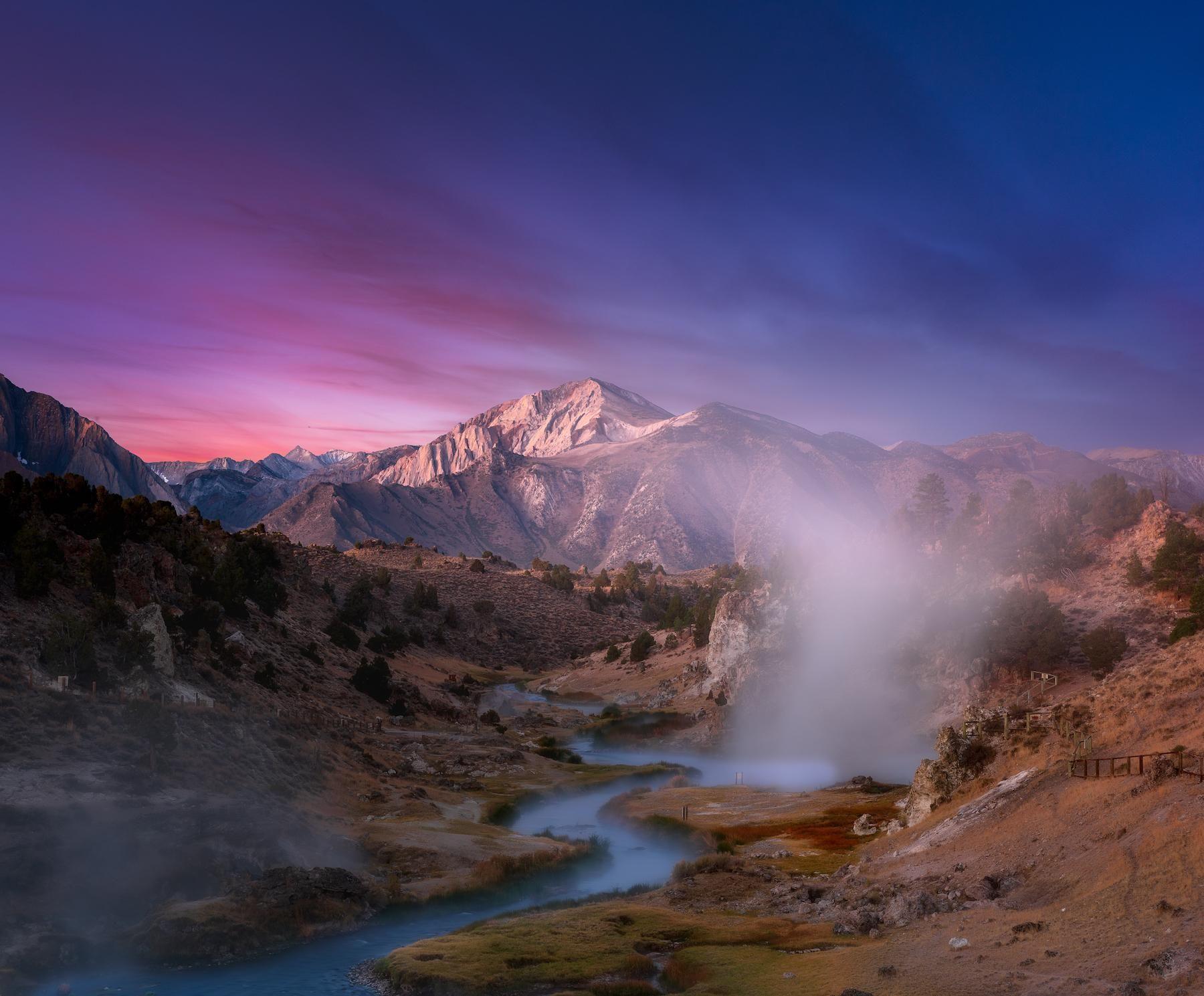 Hot springs in eastern sierra before sunrise 1800x1500