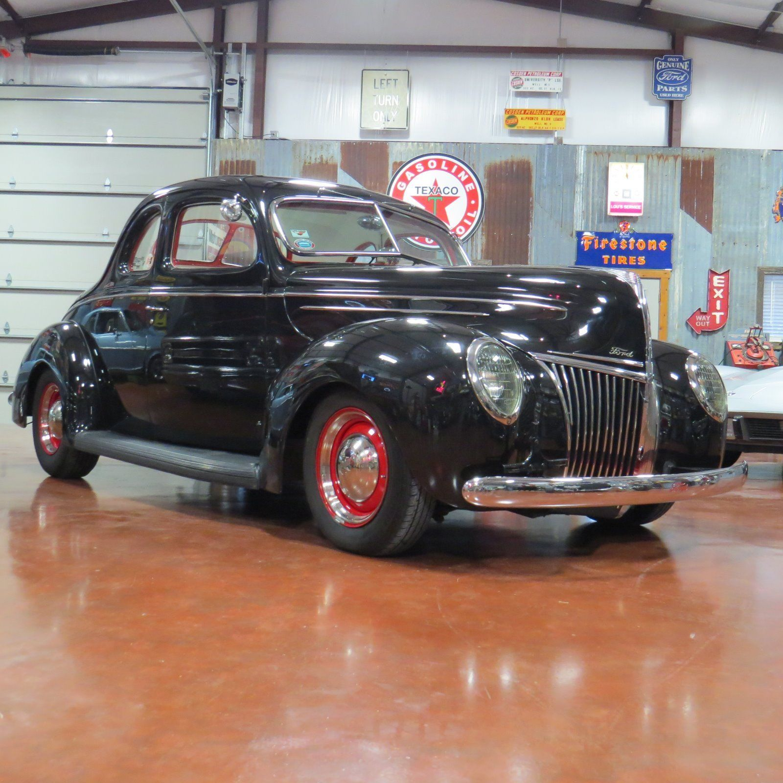 Nice Awesome 1939 Ford 2 dr coupe Deluxe Old School Hot Rod ...