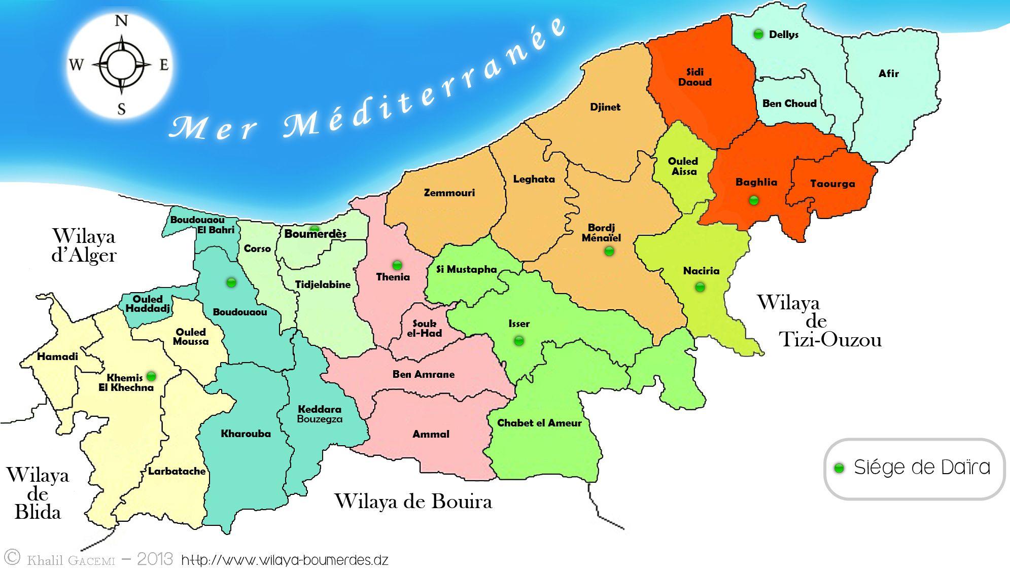 Carte De La Wilaya Boumerdes Disney Characters Alger Character