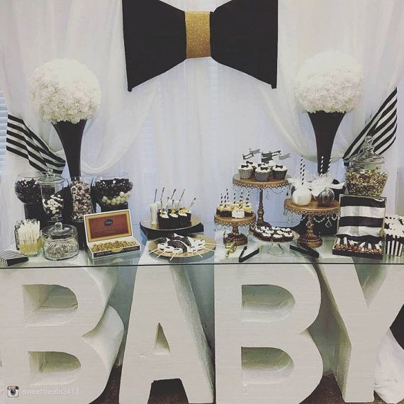 Baby name glass top table sweet table candy by