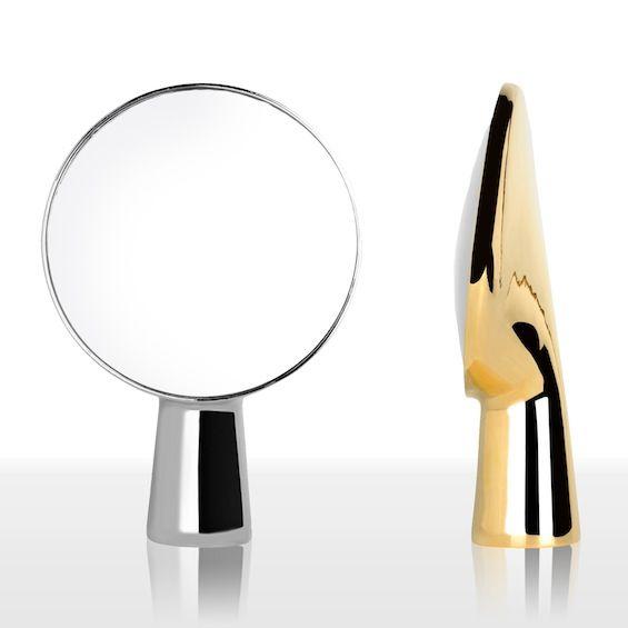 Miroir de table ionna vautrin cyclope ardent cyclope miroir de table et miroirs - Miroir coiffeuse led ...