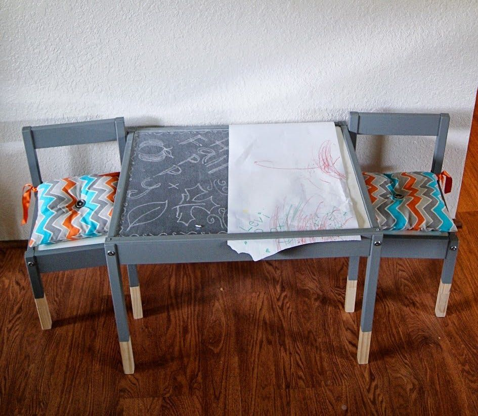 Diy Inspiration 15 Makeovers Of The LÄtt Table Chairs - Ikea Stühle Plexiglas