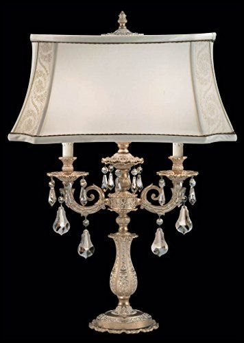 Schonbek 70500n80tk Swarovski Lighting Sophia Table Lamp Roman