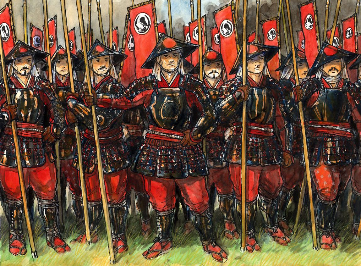 The Peasants or Ashigaru(light foot) was Developed in ...