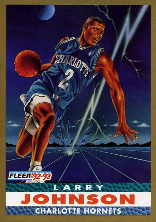 Basketball Cards Nba Larry Johnson Nba Charlotte Hornets