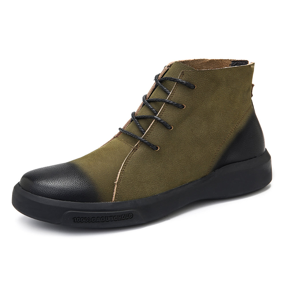 Casual Leather Ankle Boots | Mens boots