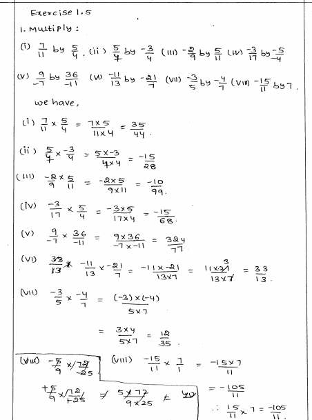 Rational Numbers Rd Sharma Class 8 Solutions Exercise 1 5 Algebraic Expressions Word Problem Worksheets Rational Numbers