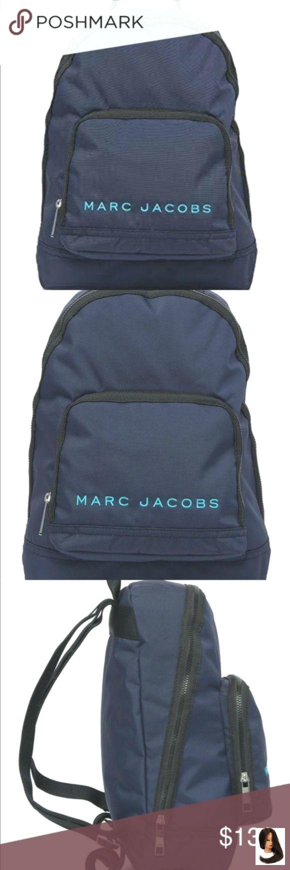 Nwt Marc Jacobs Backpack Indigo Nwt Marc Jacoobs Backpack Indigo Brand Marc