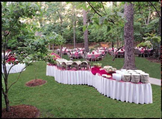 Buffet Table Set Up Diagram | Buffets | Pinterest | Buffet, Food ...