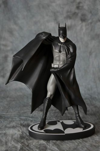 DC Batman Black and White Alex Ross Statue. Sold Out. Dark