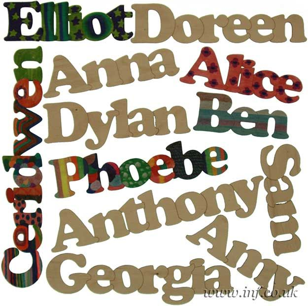 Chain Words And Names Craft Shapes Cutout Blanks Cut By Laser Router Avaliable In Wooden