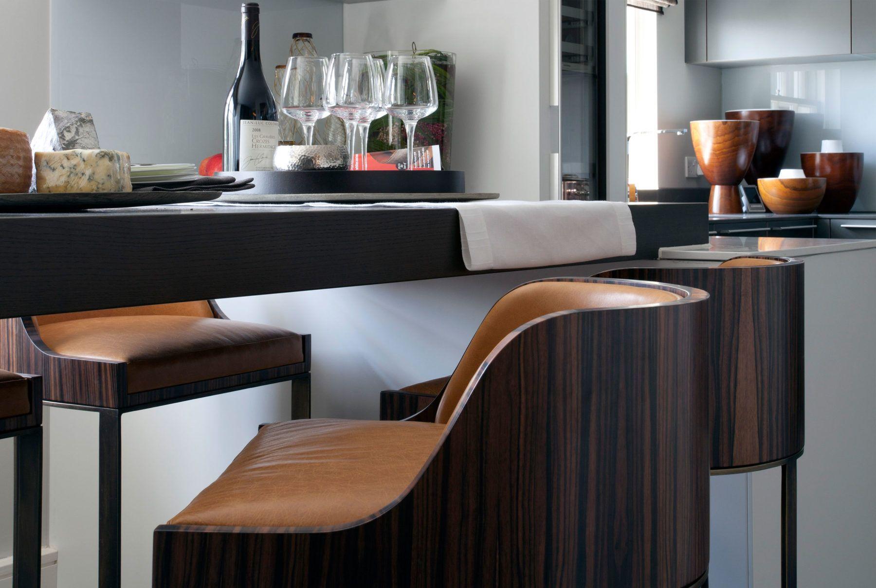 Luxury Contemporary Penthouse Suite Design Luxury dining