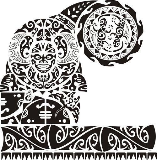 Resultado De Imagen Para Tatuajes Maories Brazo Plantillas Si El - Fotos-de-maories
