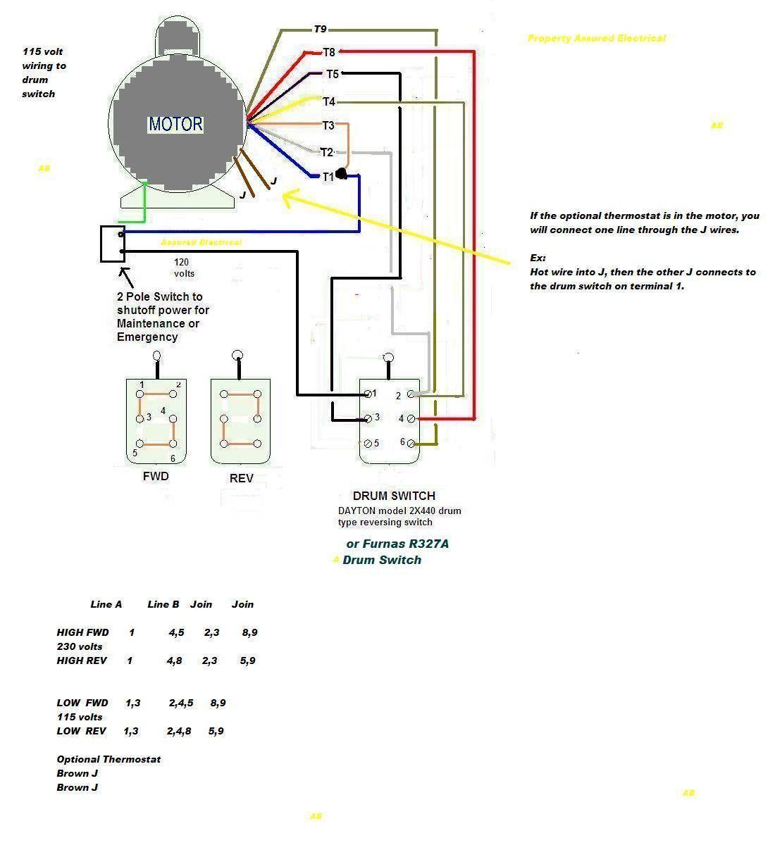 medium resolution of 5 lead single phase motor wiring diagram 6 lead single phase capacitor motor wiring million